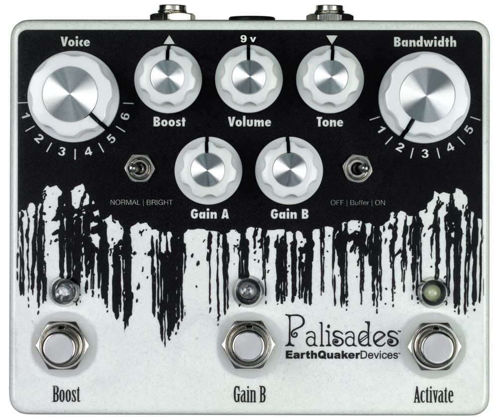 169921 Earthquaker EQDPAL Earthquaker Devices Palisades Overdrive Effektpedal.